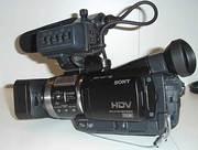видеокамера Sony HDR-HC1E HDV CMOS матрица