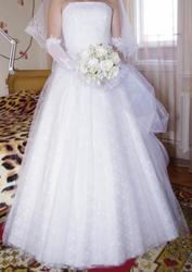 Продаю счастливое свадебное платье в отличное состоянии.